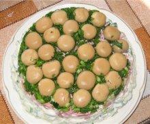рецепты праздничных салатов и закусок к новому году.