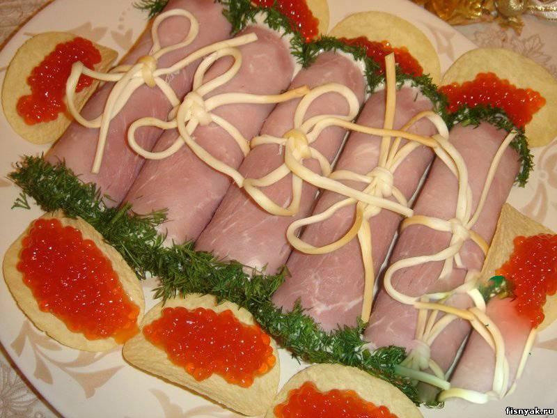 Легкие и вкусные блюда к праздничному столу