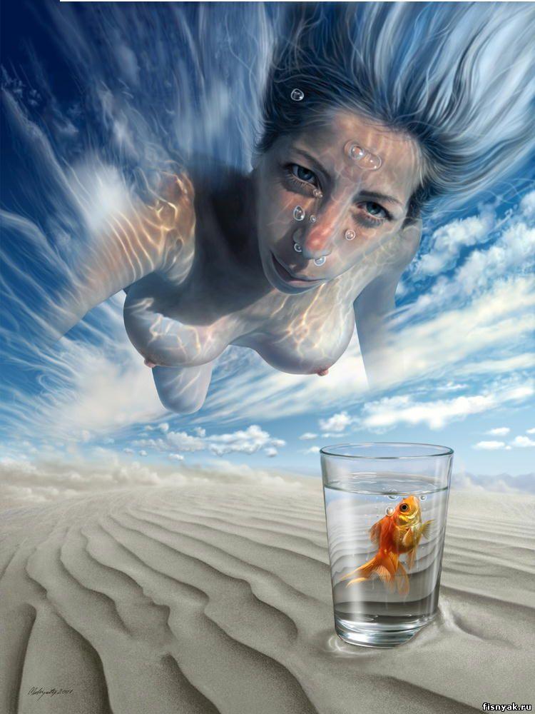 Невероятно красивые рисунки художника - Mahir Ates
