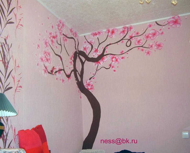 Своими руками сделать на стенах рисунки